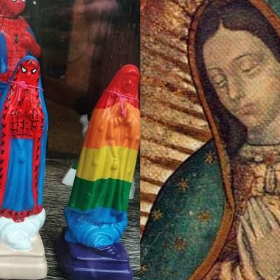 Figuras de la Virgen de Guadalupe generan polémica en redes