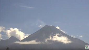 Foto: Colima y Jalisco solicitan a Cenapred apoyo para mejorar el monitoreo del volcán, 4 de julio de 2019 (Webcamsmexico YouTube)