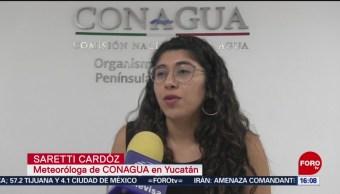 FOTO: Yucatán padece temperaturas superiores a los 40 grados, 6 Julio 2019