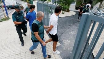 franceses detenidos por violacion en españa