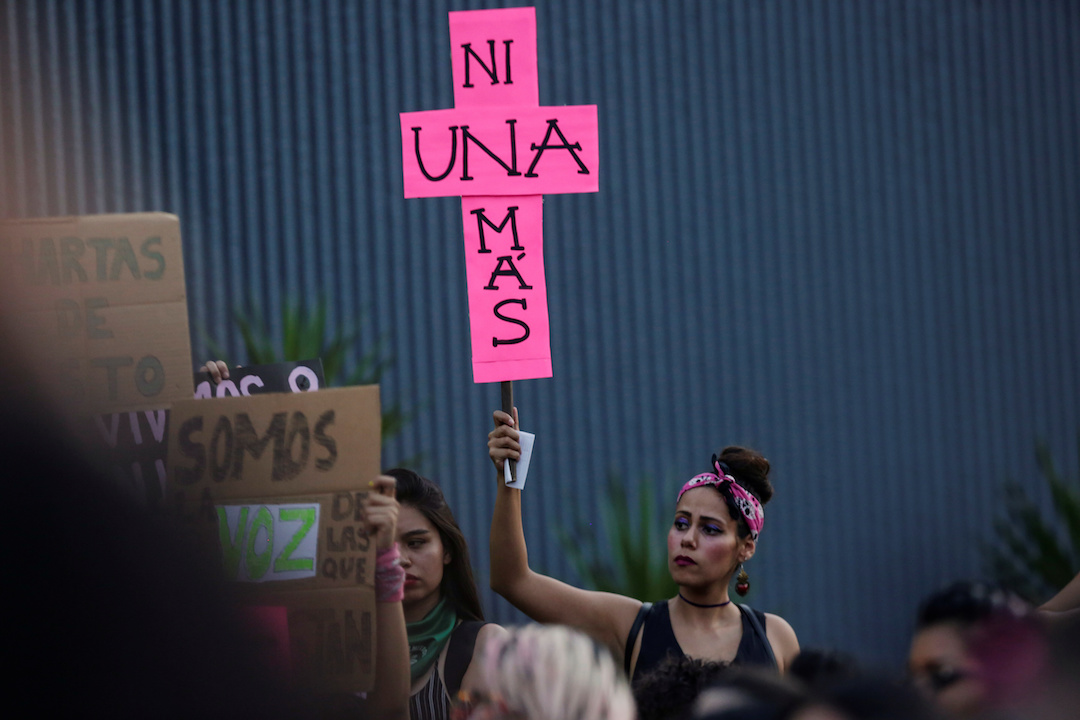 Foto: Protesta del 16 de agosto de 2019 desde Monterrey, Nuevo León. 18 agosto 2019
