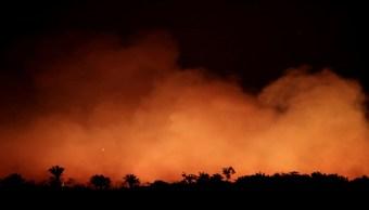 Foto:incendio-en-amazonas. 22 agosto 2019
