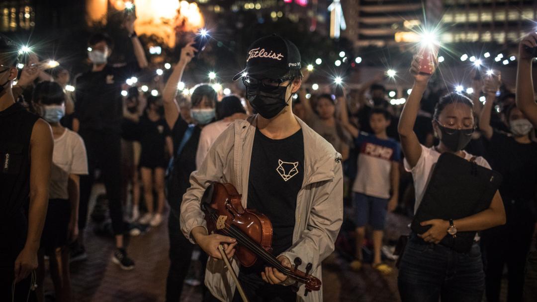 Foto: Las protestas en Hong Kong no han parado en meses, 22 de agosto 2019 (EFE)