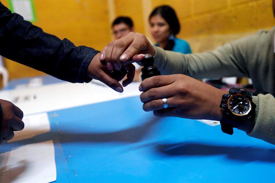 Foto: Más de ocho millones de guatemaltecos salieron a votar, 11 de agosto de 2019 (EFE)