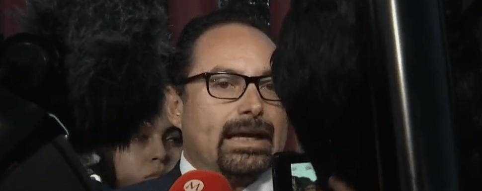 FOTO Julio Hernández, abogado defensor de Rosario Robles (FOROtv)