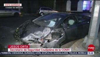 FOTO: Abrirán carpeta de investigación por accidente de Lamborghini, 18 Agosto 2019