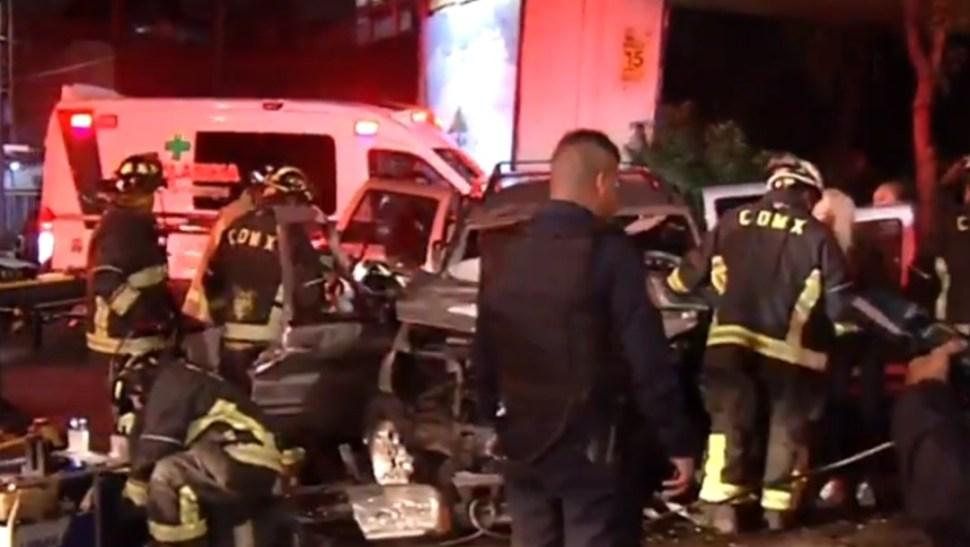 Foto: Accidente vehicular, 16 de agosto de 2019