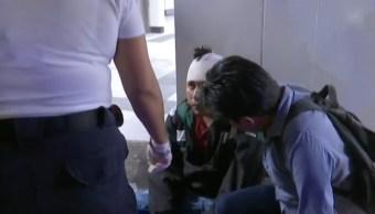 Foto: 5 hombres y una mujer fueron atendidos en diversos hospitales luego de esta riña, 17 de agosto de 2019 (Noticieros Televisa)