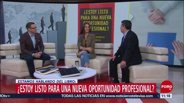 Adrián Etzael González presenta ¿Estoy listo para una nueva oportunidad profesional?