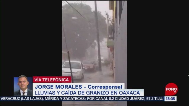 FOTO: Afectaciones Por Lluvia Granizada Oaxaca