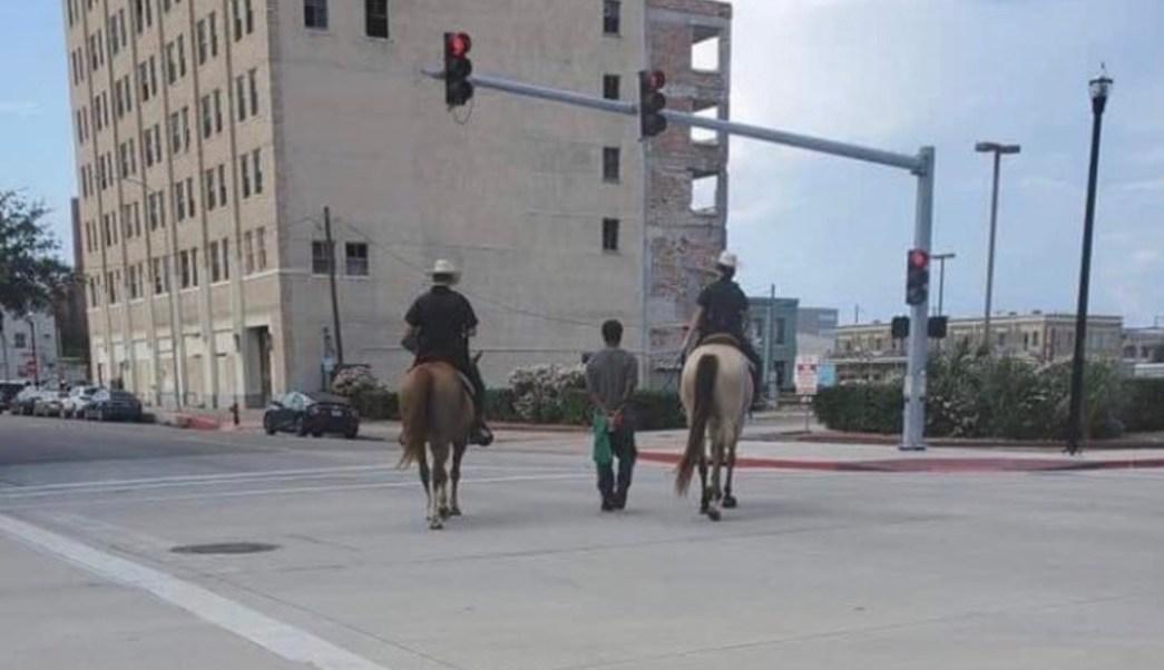 afroamericano detenido en texas 2