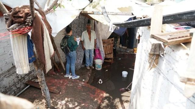 Foto: En la colonia Villas del Ixtepete en Zapopan, aun no llega la calma, 5 de agosto de 2019 (Twitter @DIF_Zapopan)