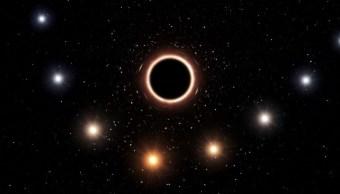Agujero-negro-resplandor-radiacion-Via-Lactea-galaxia