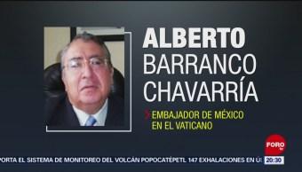 Foto: Alberto Barranco Nuevo Embajador México Vaticano 7 Agosto 2019