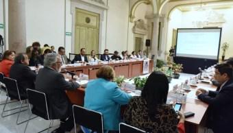 Reunión de trabajo sobre el caso Ayotzinapa.