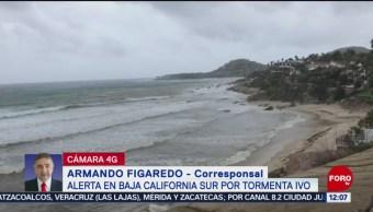 Alerta en Baja California Sur por la tormenta tropical 'Ivo'