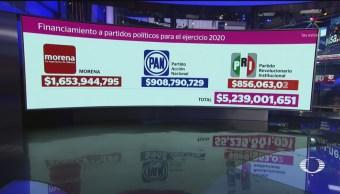 Foto: Amlo Exhorta Partidos Devolver Mitad Presupuesto Asignado 7 Agosto 2019