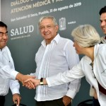 Foto: En Puebla, el presidente Andrés Manuel López Obrador dialogó con la comunidad del Hospital Rural de San Salvador el Seco, el 31 de agosto de 2019 (Presidencia/Cuartoscuro)