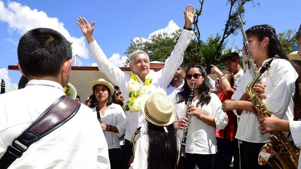 Foto: AMLO también se pronunció en contra de la subrogación de los empleos en el sistema de salud, el 17 de agosto de 2019 (Gobierno de México)
