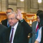 Foto: AMLO llega a la reunión plenaria de senadores y diputados federales de Morena, 29 agosto 2019