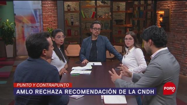 Foto: Amlo Rechaza Recomendación Cndh 27 Agosto 2019