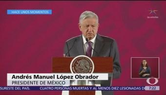 AMLO respeta decisión de Banxico de bajar la tasa de interés