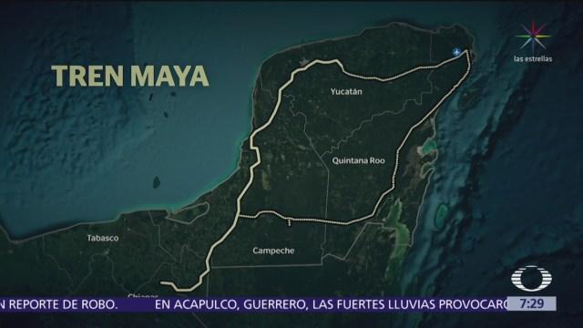 Anuncian a primer ganador de licitación de Tren Maya