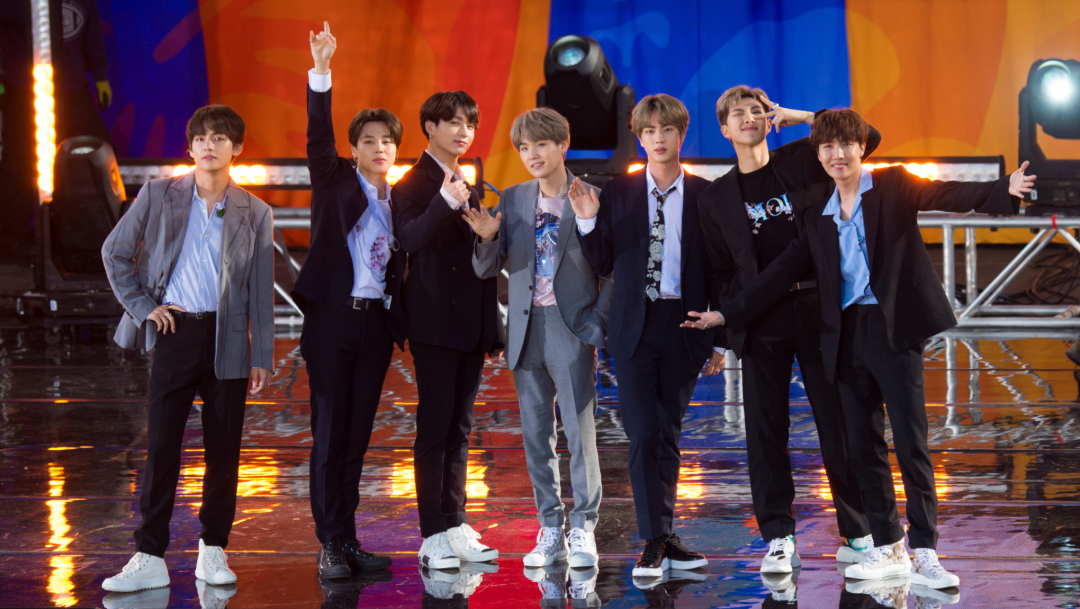 Foto: El grupo compuesto por siete integrantes ha ofrecido conciertos en escenarios de ciudades de todo el mundo, 11 de agosto de 2019 (AP)