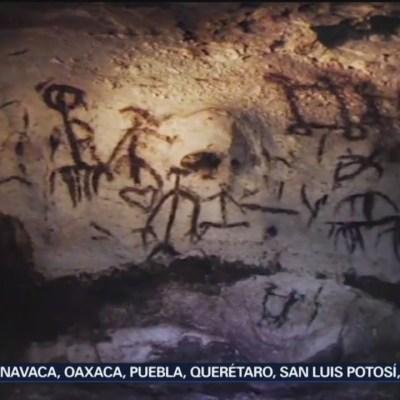 Arqueólogos descubren pinturas rupestres en Campeche