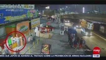 Asaltan negocio de pollos en Chicoloapan, Estado de México