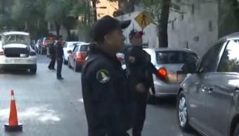 Foto: Policías Lomas de Chapultepec, 30 de agosto de 2019, Ciudad de México