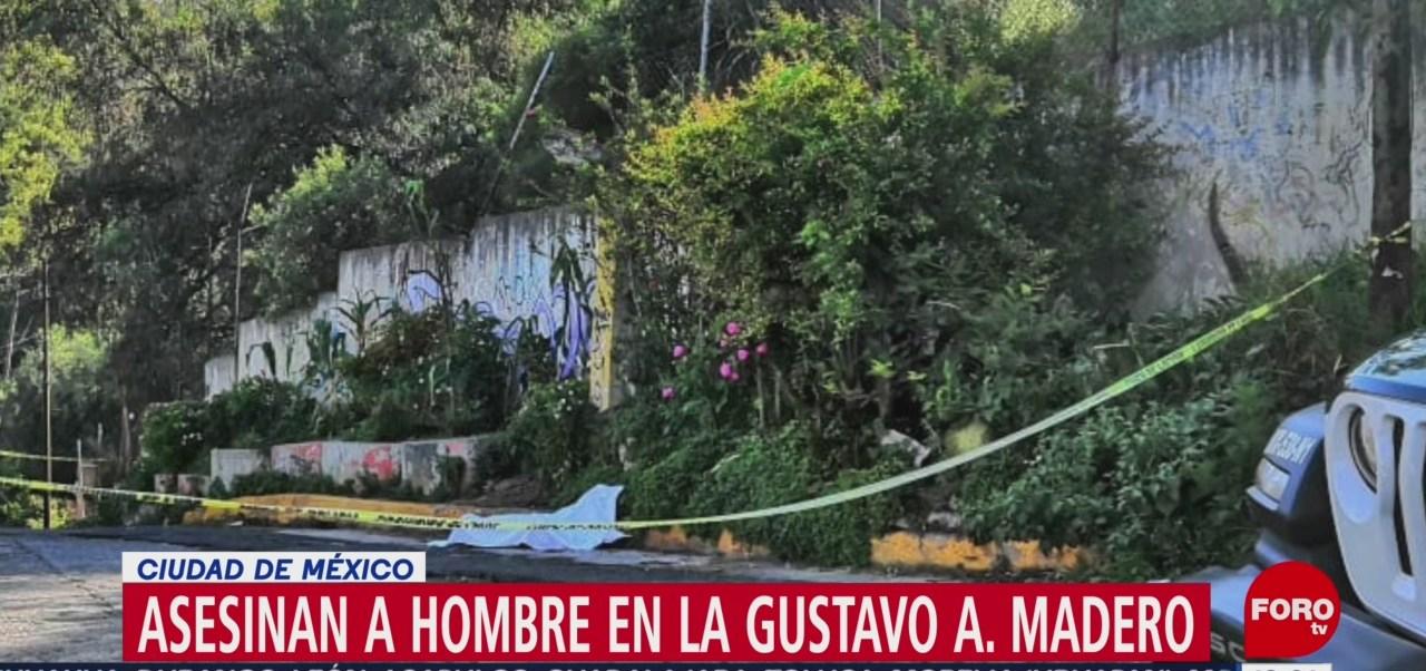 FOTO: Asesinan hombre Gustavo A. Madero