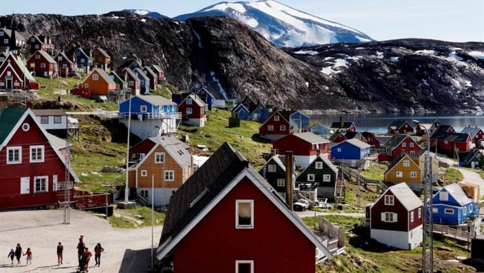 Imagen: Políticamente, Groenlandia pertenece a Dinamarca, pero se trata de un territorio autónomo que desde 2009, 18 de agosto de 2019 (EFE, archivo)