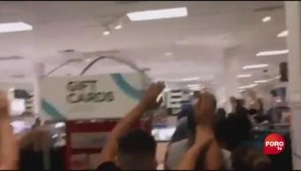 FOTO: Así desalojaron centro comercial tras tiroteo en Texas, 3 AGOSTO 2019