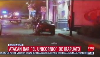 FOTO: Ataque en bar de Irapuato deja tres muertos, 31 Agosto 2019