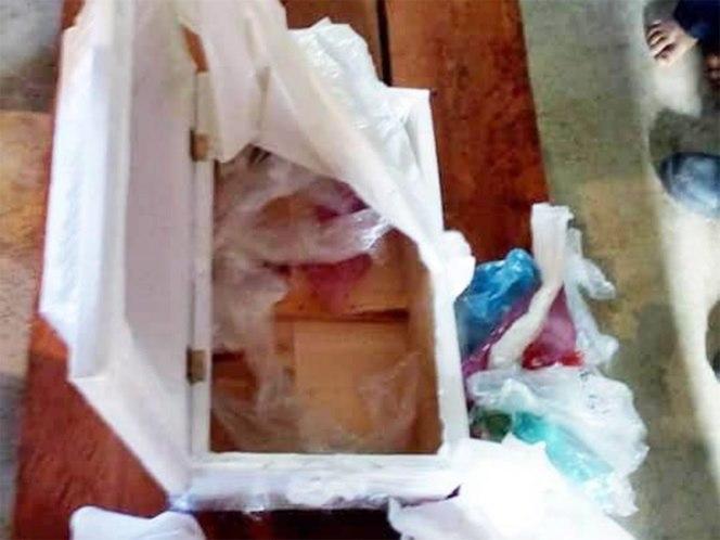 Foto Acude al hospital por el cuerpo de su bebé, recibe ataúd con basura 13 agosto 2019