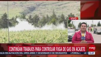 FOTO: Continúan Trabajos Para Controlar Fuga Gas LP México-Puebla