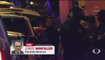 Foto: Autoridades Veracruz Echan Bolita Masacre Coatzacoalcos 29 Agosto 2019