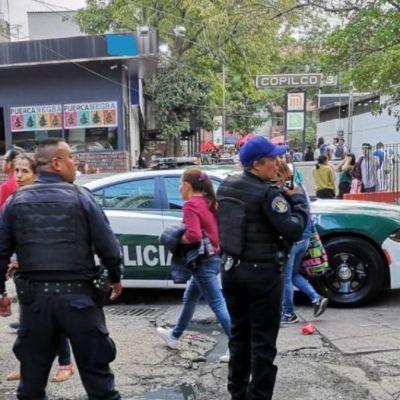 Confirman dos heridos por balacera afuera del Metro Copilco, CDMX