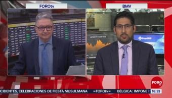 Foto: Bolsa Mexicana Cae Sesión Volátil