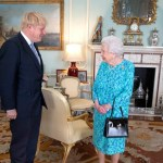 Foto: Boris Johnson e Isabel II, 24 de julio de 2019, Inglaterra