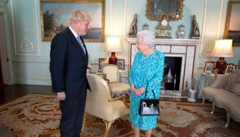Foto: Boris Johnson e Isabel II, 24 de julio de 2019, Inglaterra