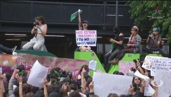 Foto: Mujeres Protestan Contra Abusos Sexuales Violencia Cdmx Hoy16 Agosto 2019