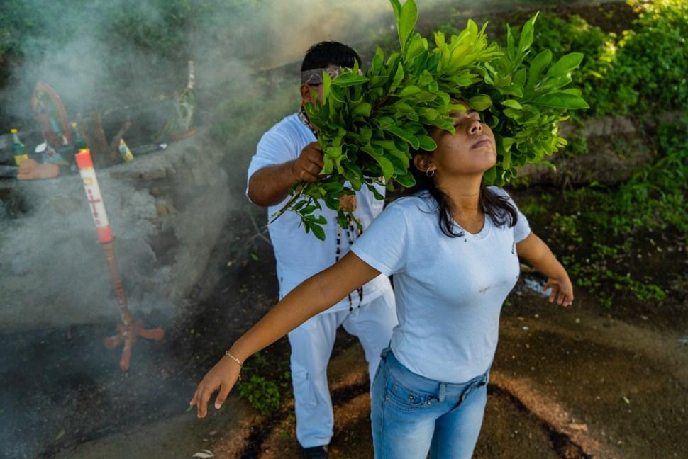 Foto: Brujo Catemaco. Agosto 2019
