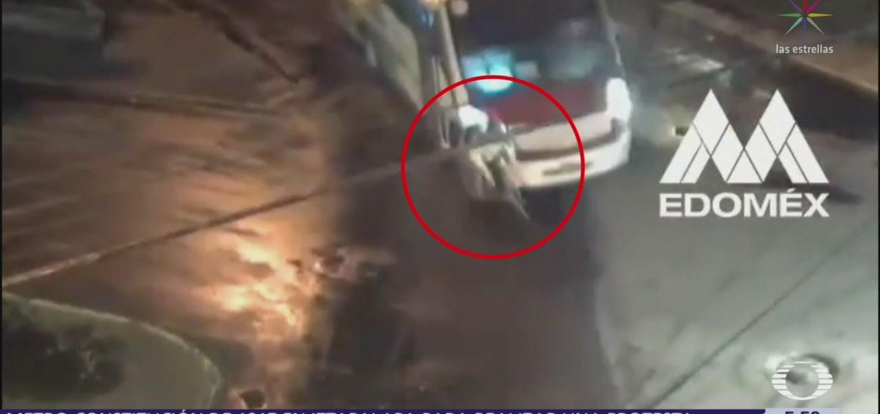 Camión atropella a ciclista en Metepec, Edomex