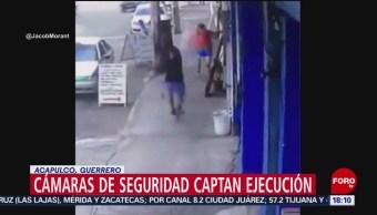 FOTO: Video Homicidio Hombre Acapulco