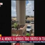 FOTO: Captan imágenes sobre el tiroteo en Texas, Estados Unidos, 31 Agosto 2019
