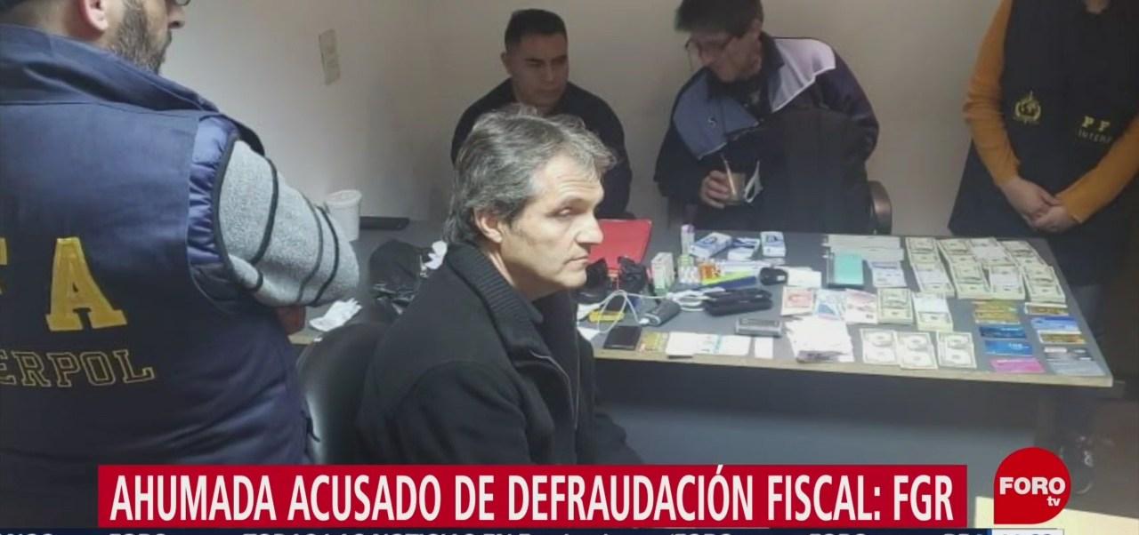 FOTO: Carlos Ahumada está acusado defraudación fiscal FGR