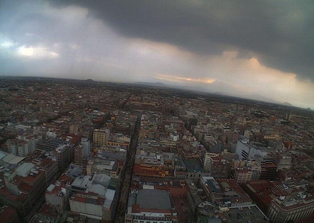 Foto: Se prevé lluvia en la Ciudad de México, 22 septiembre 2019