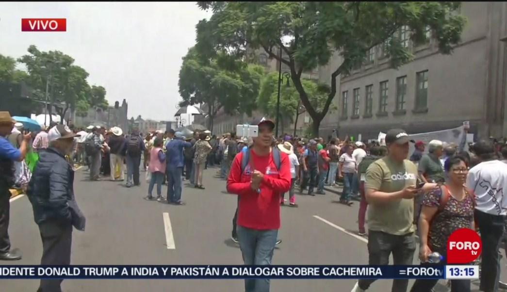 FOTO: Cerca de 600 personas se manifiestan afuera de la SCJN, 18 Agosto 2019